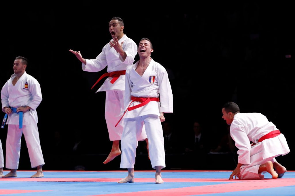 kata Èquipe masculin zemouri (ahmed) (fra) ceinture rouge montarello (enzo) (fra) ceinture rouge jeannot (lucas) (fra) ceinture rouge