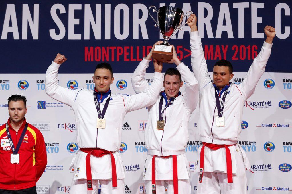 kata équipe masculin zemouri (ahmed) (fra) ceinture rouge montarello (enzo) (fra) ceinture rouge jeannot (lucas) (fra) ceinture rouge