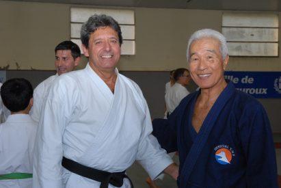 Maître MOCHIZUKI et moi même