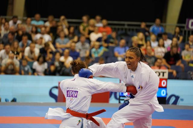 Anne-Laure Florentin : le bronze en +68kg pour la double championne d'Europe - Photo Julien Crosnier / KMSP / DPPI