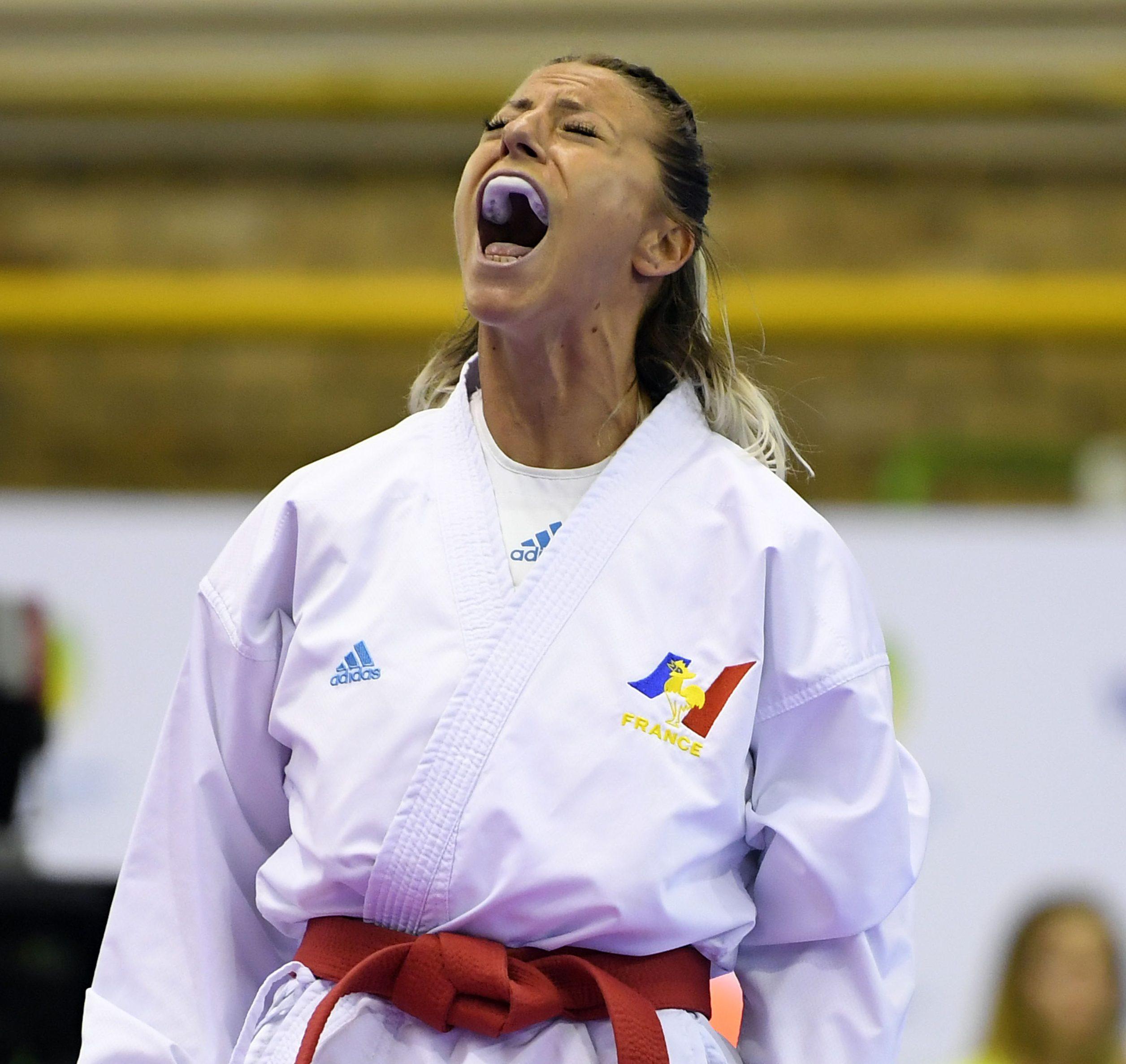 Alexandra Recchia, de nouveau sur la plus haute marche du podium - Photo Julien Crosnier / KMSP / DPPI
