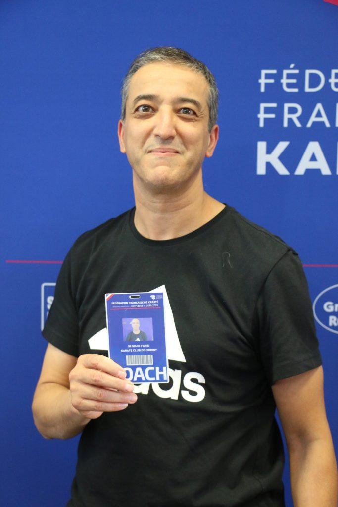 Farid Slimane, coach conquis par ce meeting.