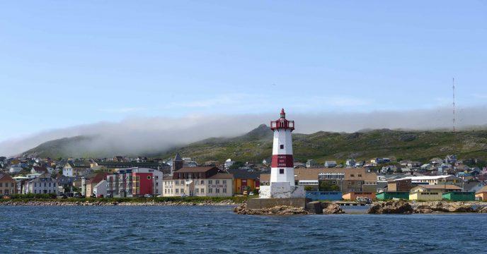 Port de Saint Pierre, reportage photographique sur l'archipel de Saint Pierre et Miquelon, collectivité française d'Outre Mer d'Amérique du Nord, le 18 juillet 2014