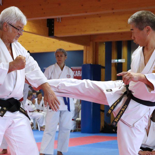 Apprendre à sortir de l'axe d'attaque avec Naoki Omi