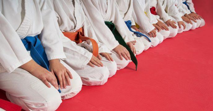 karate kids martial arts training
