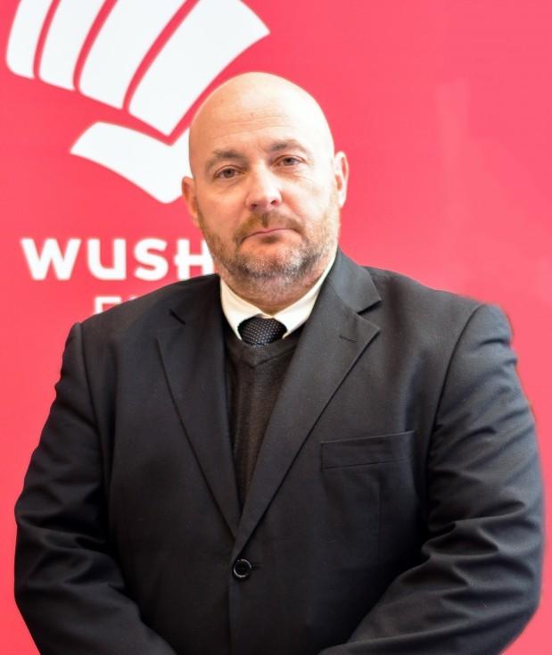 Max Goutfer, président de la commission nationale de wushu au sein de la FFK.