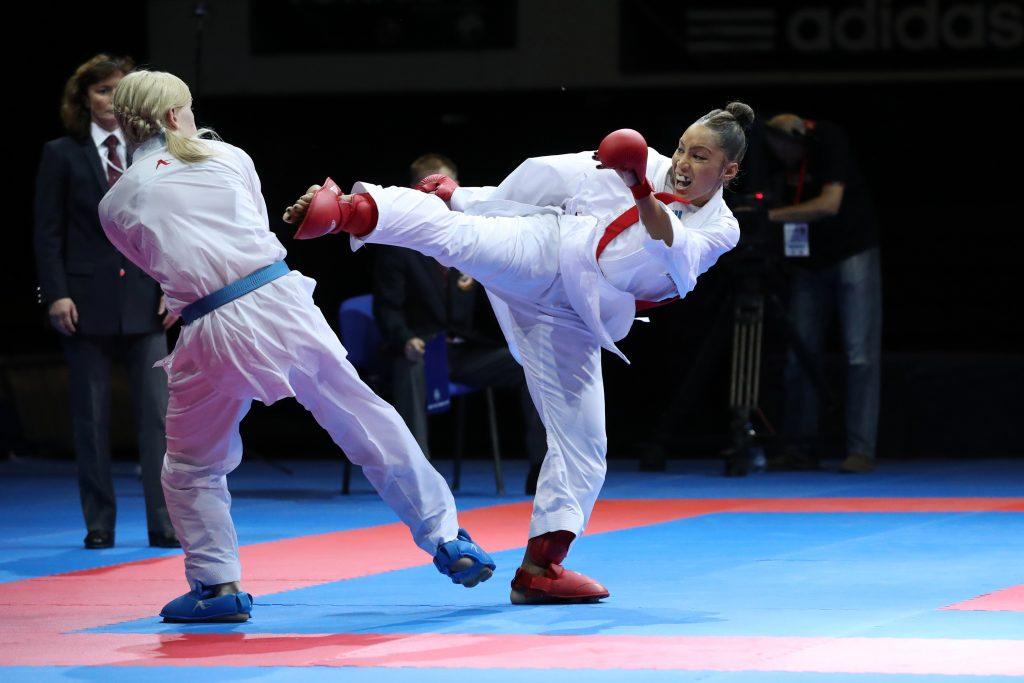 finale combat feminin +68kg ignace (lucie) (fra) ceinture rouge serogina (anita) (ukr)ceinture bleu